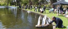 One of my earliest memories - people sailing toy boats on the lake at King Edward Park, Hawera. We would go there after lunch when visiting my grandparents. Grandparents, New Zealand, Boats, Sailing, Toy, Lunch, King, Memories, Island