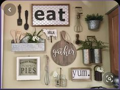 Kitchen gallery wall Wand der Küchengalerie Best Picture For chic farmhouse decor For Your Taste You are looking for something, and it is Farmhouse Style Kitchen, Modern Farmhouse Kitchens, Farmhouse Kitchen Decor, Decorating Kitchen, Red Kitchen, Farmhouse Chic, Country Kitchen, Kitchen Gallery Wall, Diy Girlande