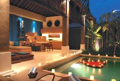 Ahimsa Beach, super de luxe bed & breakfast in Jimbaran, Bali - www.bedandbreakfast.eu