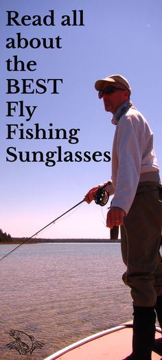 """Looking for fly fishing sunglasses?  Check out the best for """"x-ray fish seeing vision""""  Some of the best cost a little more, but hooking into the fish of a lifetime might be worth it.  Click on the picture to read more at Guide Recommended."""