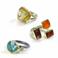 Margoni rings make great Valentine's Day gifts. Each handcrafted and so unique! Greek Jewelry, Great Valentines Day Gifts, Cufflinks, Gemstone Rings, Jewels, Jewellery, My Favorite Things, Unique, Instagram Posts