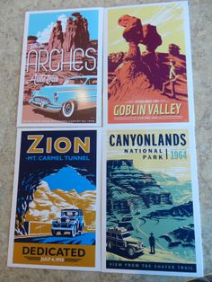 Great Retro Post Cards