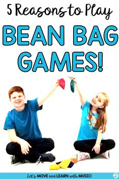 Did you know that there's 5 Reasons to play bean bag games in music class? Learn about them. Kids love bean bags! They love to feel them, toss, them, pass, throw and hold them. Get ideas in this blog post from Sing Play Create. #beanbagactivities, #musiceducation, #movementandmusic, #beanbagmusicgames, #beanbaggames, #singplaycreate