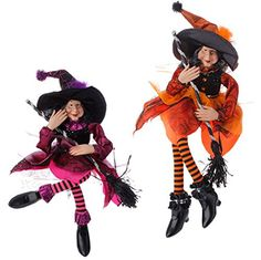 "Halloween Decoration - 20"" Sitting Witches - Set of 2 PerfectlyFestive http://www.amazon.com/dp/B013PQH36Y/ref=cm_sw_r_pi_dp_Va2Yvb0G3N4X8"