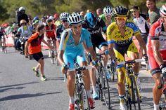 Vuelta a España 2014 - Stage 6: Benalmádena - Cumbres Verdes (La Zubia) 167.7km - Fabio Aru and Alberto Contador