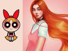 here is (grown up) Blossom! 🌸 who was your favorite powerpuff girl? #powerpufftheworld