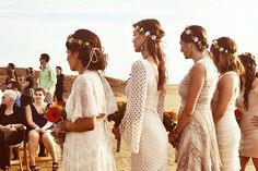 Taylor and Alex's Bohemian Beach Wedding in a Mystical Fairyland. By Studio Sequoia