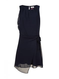 Robe voile bleu marine