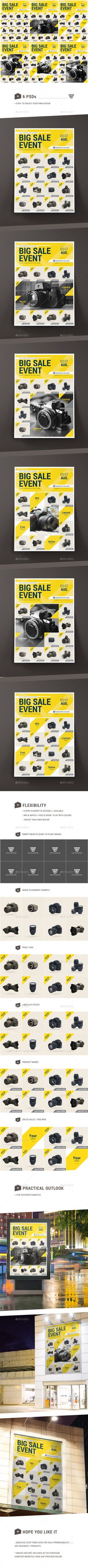Sale Promotional Flyer Template PSD. Download here: http://graphicriver.net/item/sale-promotional-flyer/16766077?ref=ksioks