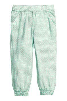 Vzorované nohavice | H&M