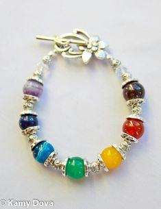7 Chakras Bracelet Spiritual Jewelry Yoga Diy