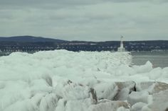 Sights and Sounds: Icy Day in Petoskey - Northern Michigan's News Leader