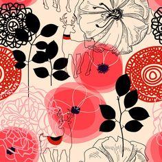 Papel de Parede Floral 1258