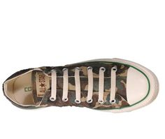 Converse All Star Chuck Taylor Sun Faded Camouflage Ox top view.