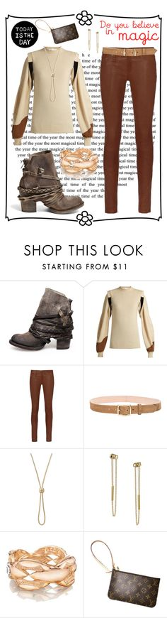 """""""Do u believe in magic"""" by tori-holbrook-th ❤ liked on Polyvore featuring Steve Madden, Toga, rag & bone, Michael Kors, LULUS, Tacori and Louis Vuitton"""