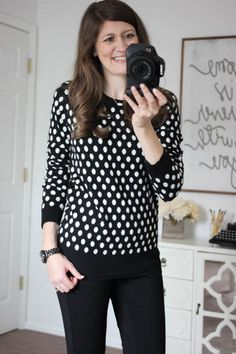 jwm - Not sure how the polkas would look on me, but they're might cute here! // Get Ready for Fall! Stitch Fix Review #27 - Kinder Craze