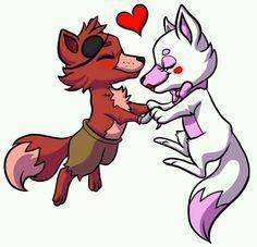Fnaf Foxy x Mangle