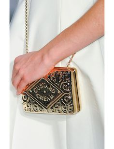 AW14 Bags, Anya hindmarch custard creme biscuit