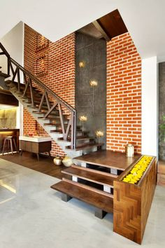 45 Trendy Home Plans Modern Stairs Indian Home Interior, Home Interior Design, Interior Architecture, Interior Decorating, Railing Design, Staircase Design, Staircase Railings, Home Decor Furniture, Furniture Design