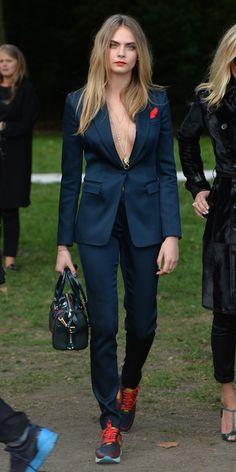 cara delevingne looks sofisticado cool celebridades modelos