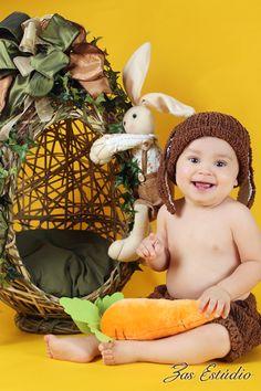 Fotos de bebê na ZAS Estúdio