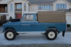 This 1963 Land Rover SIIA 109 is a rare LWB pick-up model recently restored by an experienced Land Rover enthusiast. Upgraded with a reproduction Richards SIII galvanized one ton chassis, supporting mods include a refreshed 200TDi turbodiesel, 24 spline Salisbury axles, and much more.