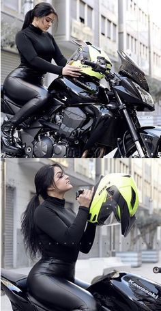 Are you looking for the best Motorcycle Helmet With A Rear-View Camera? Or you are on the hunt for a smart motorcycle helmet. Cool Motorcycle Helmets, Motorbike Girl, Lady Biker, Biker Girl, Fille Et Dirt Bike, Dirt Bike Girl, Biker Chick, Super Bikes, Sexy Jeans