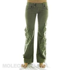 In Molecule's Himalayan Hipster Pants you'll be as comfortable hiking the Himalayas as checking out trendy cafés in durable, stylish, hip-hugging beauties with loose-legged, airy freedom and extra pockets. Choose your adventure palette in green, or Cargo Pants Women, Trousers Women, Women's Summer Fashion, All Fashion, Camouflage Cargo Pants, Hipster Pants, Athletic Pants, Casual Fall, Hipsters