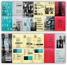 Brochure Inspiration, Graphic Design Inspiration, Brochure Layout, Brochure Design, Id Design, Book Design, Editorial Layout, Editorial Design, Typo Poster
