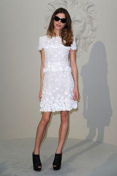 Elisa Sednaoui Photo - Chanel - Outside Arrivals - PFW Haute Couture F/W 2011