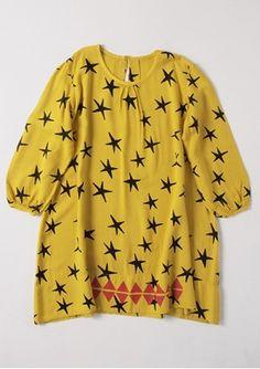 Dress LS Stars Bobo Choses