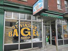 Montreal St. Viateur bagel shop