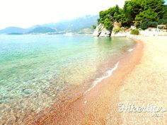 Sveti Stefan Beach in pictures - HikerTips Beach Pictures, Beach Fun, Perception, Beaches, Amazing, Water, Outdoor, Beauty, Gripe Water