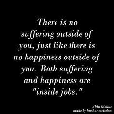 Happiness inside job