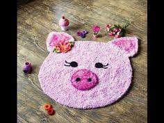Tapete de porquinha com Simone Eleotério | Vitrine do artesanato na TV - YouTube