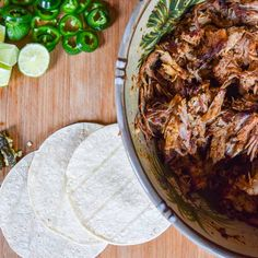 Smoked Pork Butt Tacos—Tacos so delicious they don't even need cheese! Made from a smoked pork butt, these pork tacos are perfect for serving a crowd! {cutsandcrumbles.com} #pork #porkbutt #smokedpork #porktacos #smokerrecipes #weber #easyporkbutt #theBBQbrothers #cutsandcrumbles Pork Meat, Grilled Meat, Pork Ribs, Bbq Beef, Grilled Side Dishes, Bacon Dishes, Pork Dishes, Grilling Recipes, Pork Recipes
