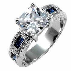 Amazon.com: Vintage Sapphire Ring: Jewelry