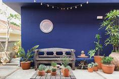 Wall Colors, House Colors, Zen Room, Garden Yard Ideas, Tropical Design, Small Garden Design, Outdoor Living, Outdoor Decor, Art Of Living
