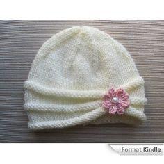 tricoter un bonnet de naissance                                                                                                                                                                                 Plus