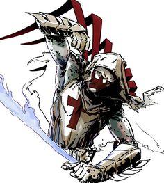 Azrael DC Comics | DSC Azrael by =MarcLaming on deviantART