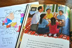 weeks 29-31 Africa using book with map skills  Map Africa is not a Country- Kid World Citizen