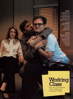 The Office Photo: Pam, Jim and Dwight Best Of The Office, The Office Show, Office Cast, Us Office, Best Tv Shows, Best Shows Ever, Favorite Tv Shows, Office Jokes, Office Pictures