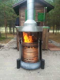 Badetonne Energie Of Bathrooms And Home Improvement Article Body: When people think of home improvem Homemade Pool Heater, Homemade Pools, Homemade Hottub, Rocket Stove Water Heater, Wood Stove Heater, Solar Pool Heater, Outdoor Bathtub, Hot Tub Garden, Saunas
