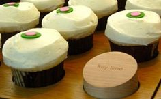 Sprinkles Key Lime Cupcakes recipe courtesy of Sprinkle cupcakes from Good Morning America show (ABC)