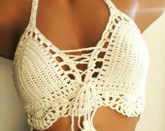 Items similar to Purple Crochet Bikini Triangle Bikini Top Women Swimwear Triangle Crochet Swimsuit Full Lining Two Piece Swimwear STAYHIGHSWIMWEAR on Etsy