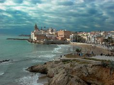 Sitges - spain-One of the places I went on my honeymoon!