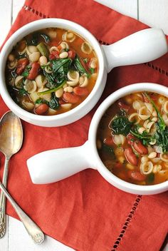 Minestrone...a classic and kid-friendly soup!