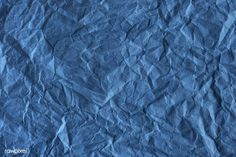 Design space paper textured background | free image by rawpixel.com Backgrounds Free, Wallpaper Backgrounds, Free Photos, Free Images, Crumpled Paper, Blue Texture, Vector Photo, Free Paper, Paper Texture