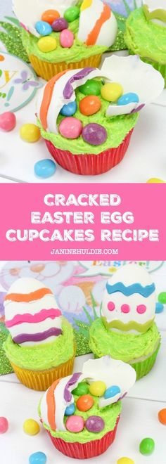 Cracked Easter Egg Cupcakes Recipe