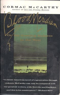 Cormac McCarthy is amazing and this book is one of his best. It's gritty and violent, yet also oddly poetic and meditative. Loosely based on historic events, Blood Meridian tells the gruesome story of America's westward expansion and accompanying murder and scalp trade. One of my all-time favorites. -Veronica